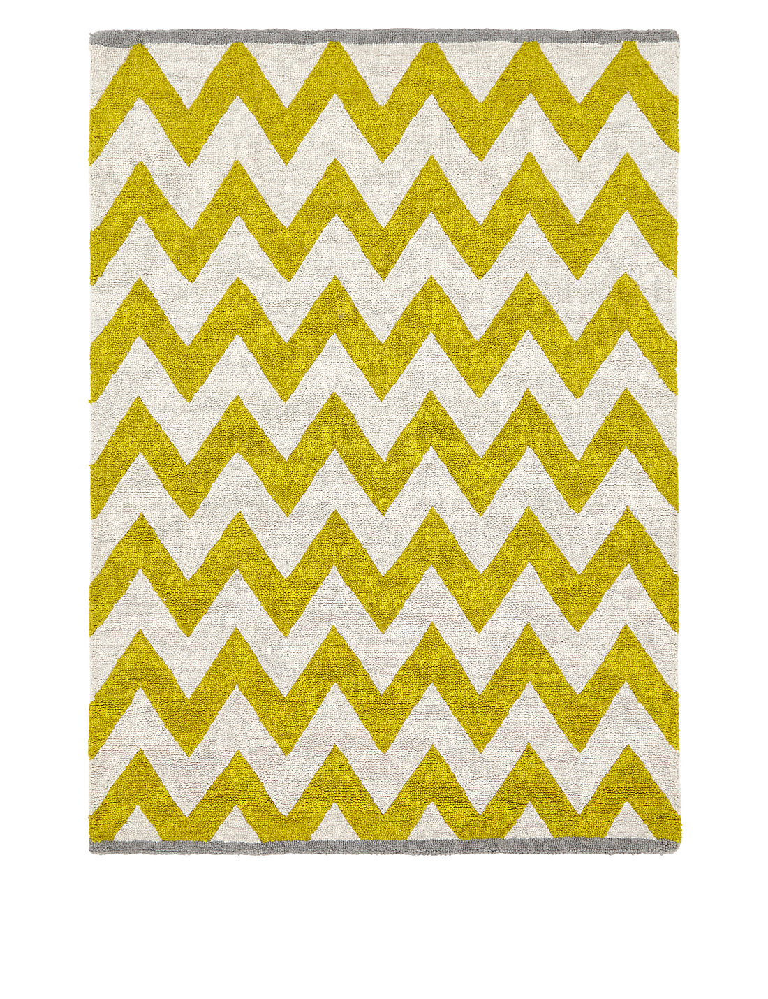 yellow geometric rug m&s