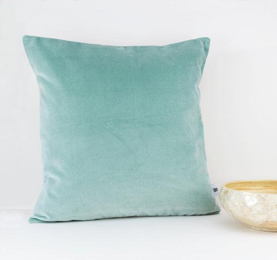 Mint Velvet Throw Pillow Etsy