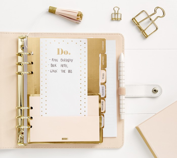 stationery planner