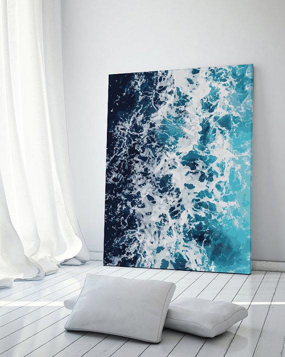 minimalist wall print etsy