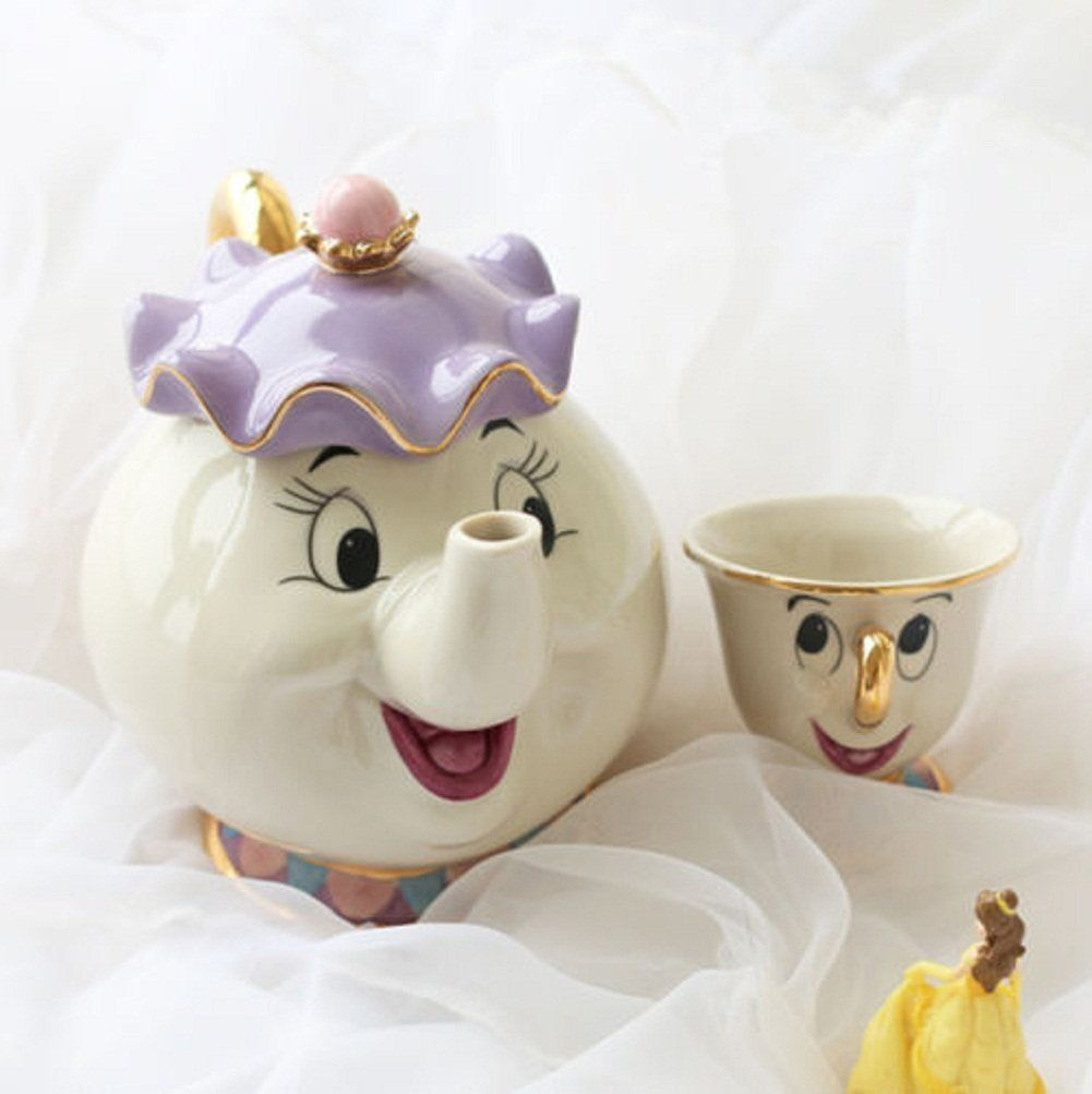 Beauty and the beast tea pot