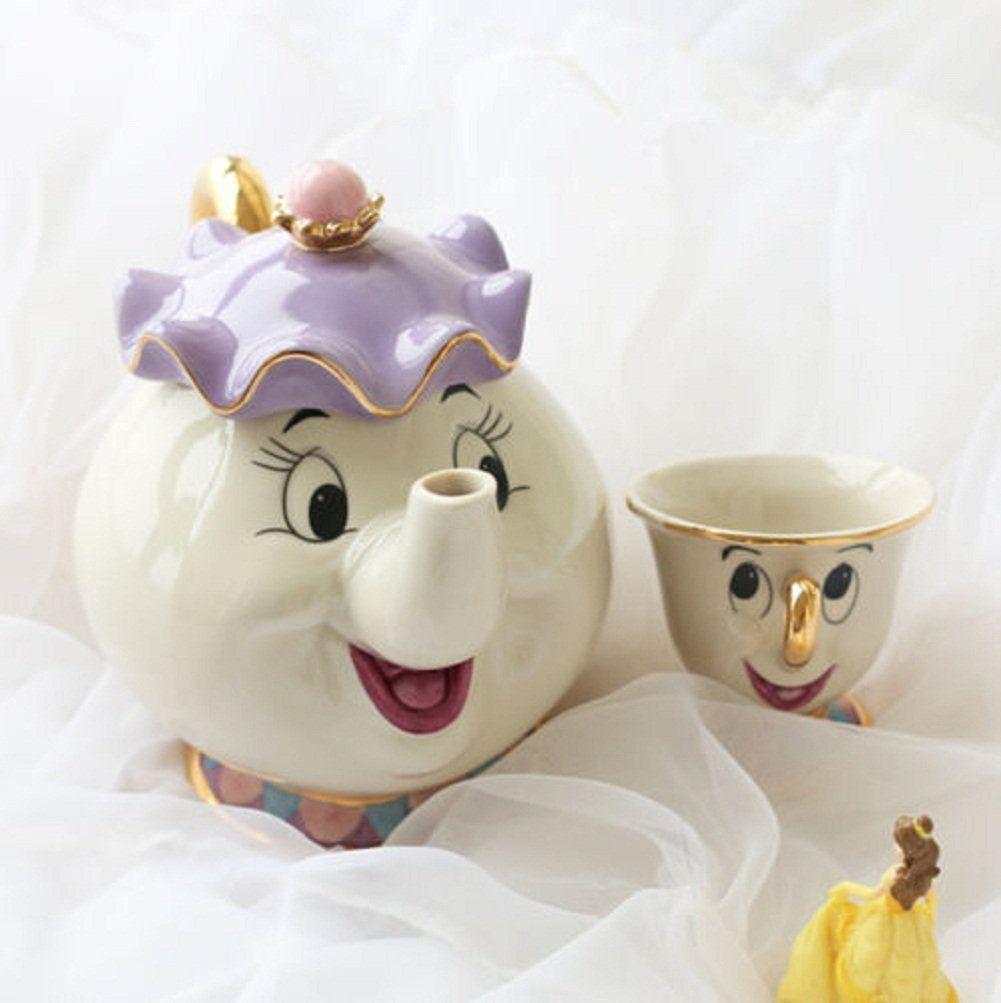 Beauty and the beast tea pot