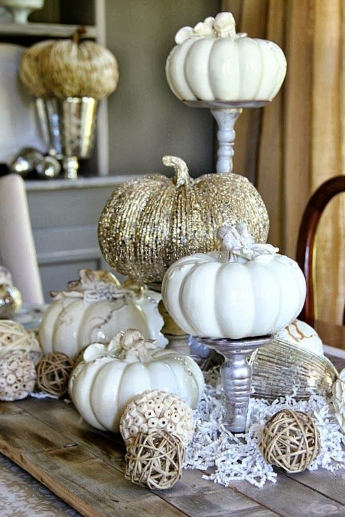 Glamoween Pumpkin Decor From The Cottage Market