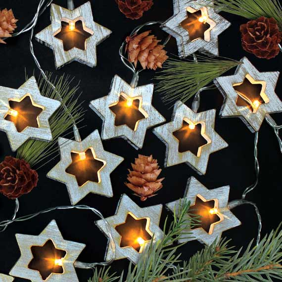 home store and more christmas star lights