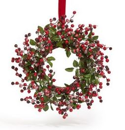 christmas wreath marks and spencer