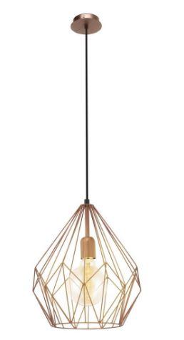 ceiling light copper vintage geometric dining room furniture