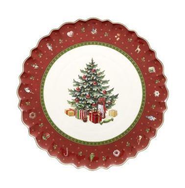 Christmas cake plate arnotts