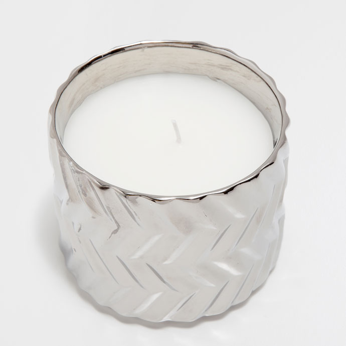 candle holder silver zara home