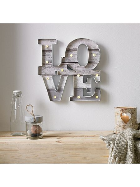 house of fraser graham and brown love light wall art