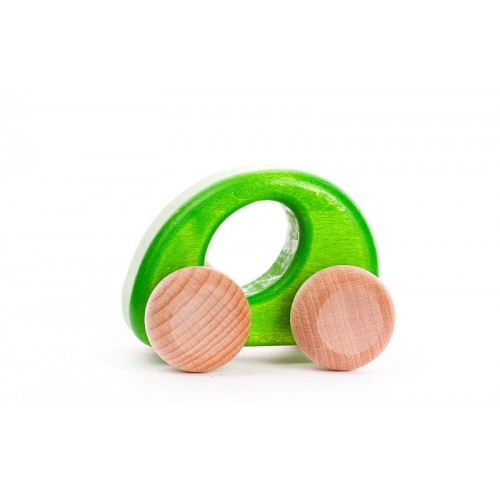 wooden car mopsy and lils green