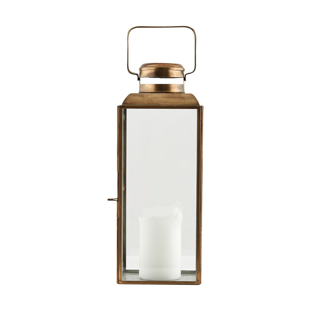 industry and co brass lantern