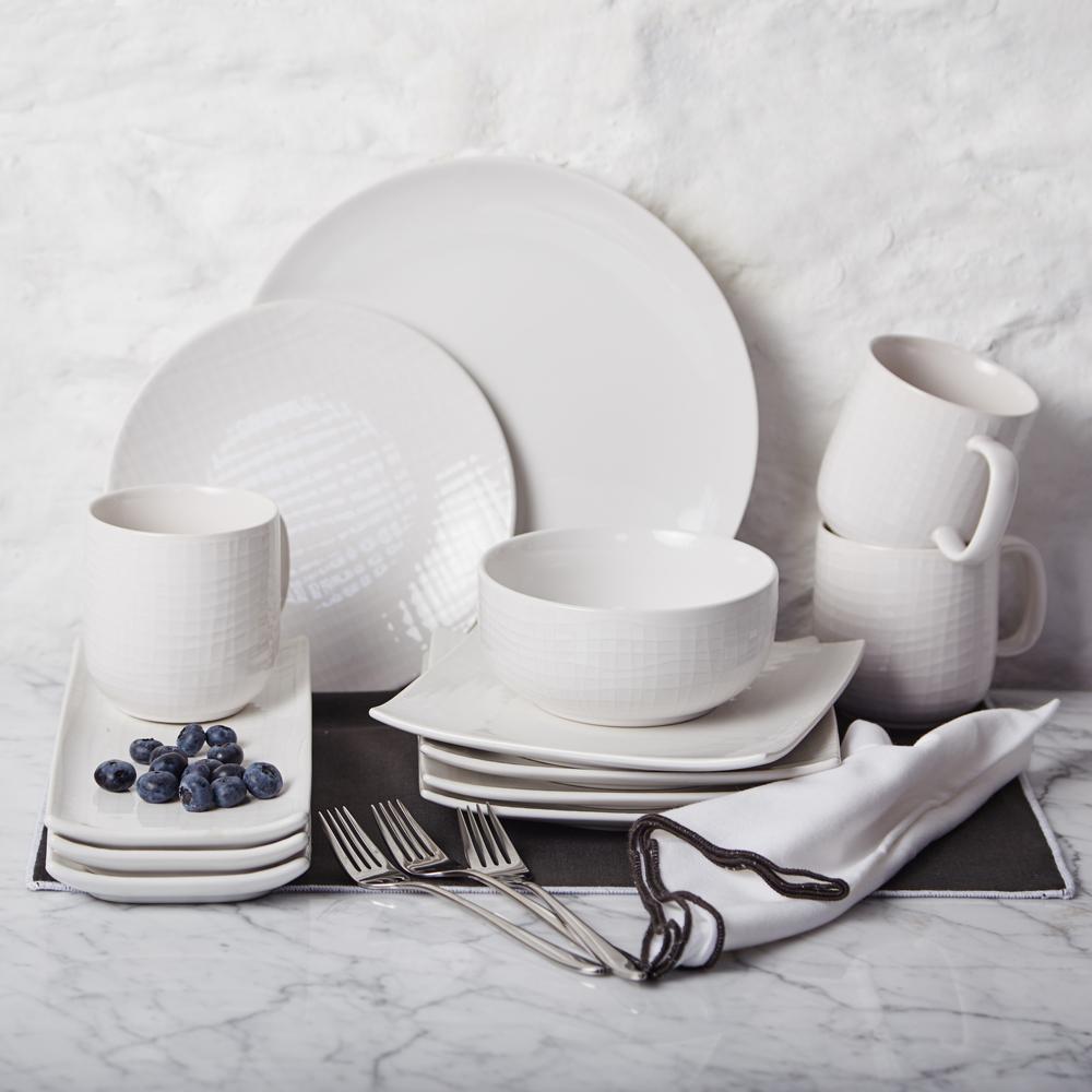 meadows and byrne dinnerware white