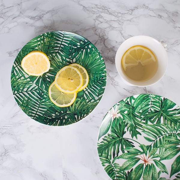 mia fleur tropical print plates