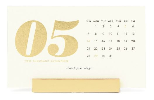 moss kate spade desk calendar home office