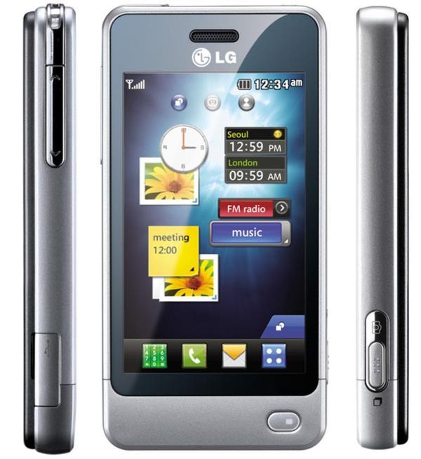 LG GD510: сенсорный телефон с одной кнопкой | gagadget.com