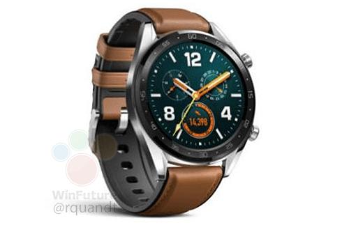 Первые изображения «умных» часов Huawei Watch GT и ...