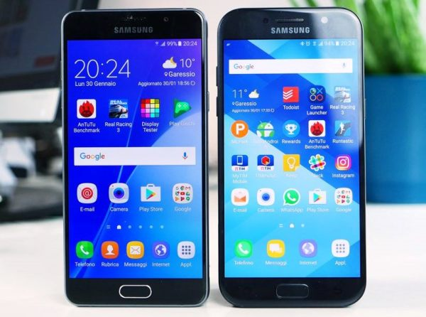 Samsung Galaxy A5 2016 и 2017 года: сходства и ...