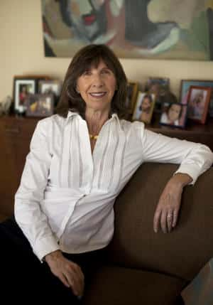 "Donne Davis in her Menlo Park, Calif. home, Wednesday, May 14, 2015. Davis became a grandmother in 2003 and she started a support group and blog for the grandma ""community"" called the GaGa Sisterhood. She also hosts a speaker series for modern grandmas and has written a book titled, ""When Being a Grandma Isn't So Grand."" (Patrick Tehan/Bay Area News Group)"