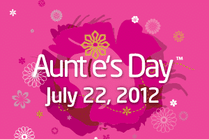 Celebrate Auntie's Day with Your Favorite Aunt