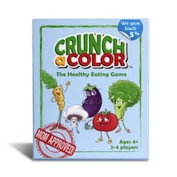 Crunch a Color Rewards Picky Eaters for Eating Healthy Foods