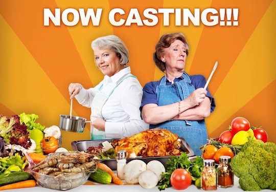 Casting Call for Grandma Thanksgiving Cook-off