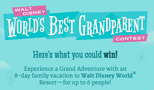 World's Best Grandparent Contest