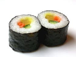 Greeting the New Year with Homemade Sushi