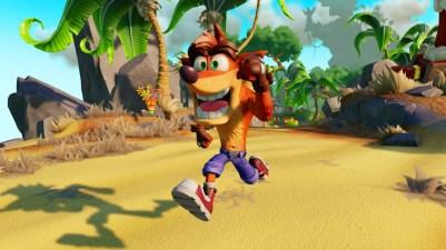 Der blev vist nyt HD gameplay fra remasteren af Crash Bandicoot trilogien, men jeg håber virkelig også at de har opfrisket controls en smule.