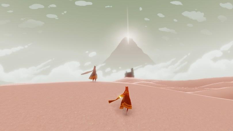 Det er ikke målet, men derimod rejsen der er det vigtige. (image credit: thatgamecompany)