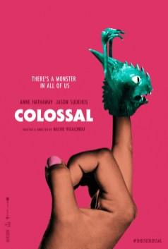 Selvfølgelig ser en plakat til en monsterfilm lavet af Nacho Vigalondo sådan ud.