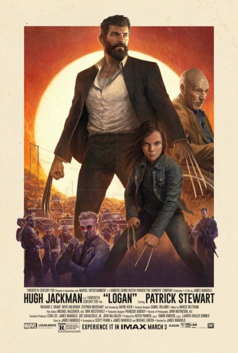 """Er der noget der hedder at være """"oversolgt"""" på en film? Damn det er (endnu) en fed plakat til Logan."""