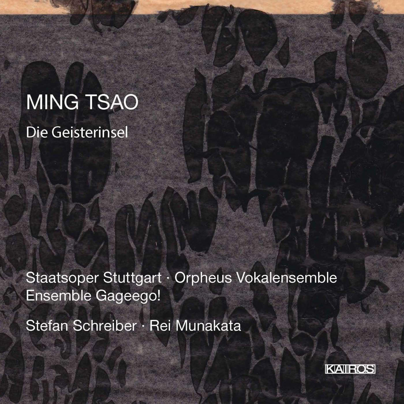 Ming Tsao: Die Geisterinsel cd album cover