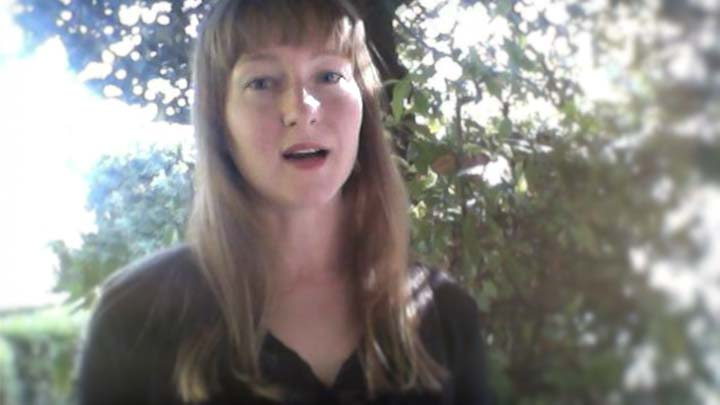Lisa Streich i Rom