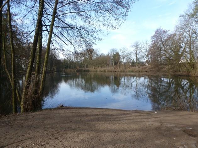 Nebensee von der Saaler Mühle