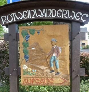 Start in Bad Bodendorf zum Rotweinwanderweg