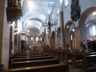 Im inneren der Kirche wunderschön