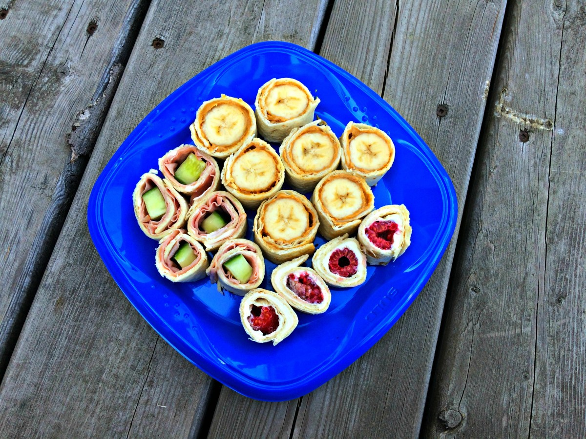 Back to School Lunches: Sandwich Sushi