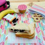 Sweetened Berry & Cream Cheese Sandwich