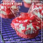 Broken Glass Cupcakes {12 Days of Halloween}