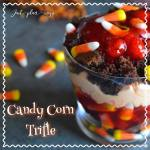 Candy Corn Trifle {12 Days of Hallowe'en}