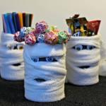 Halloween Mummy Cans {12 Days of Hallowe'en}