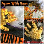 Popcorn Witch Hands: Quick and Easy Dollar Store Hallowe'en Treat