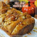 Pull Apart Pumpkin Bread {12 Days of Thanksgiving}