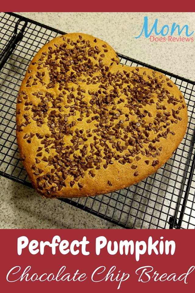 This Pumpkin Chocolate Chip Bread is part of the #12DaysOf Thanksgiving at GagenGirls.com