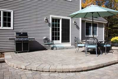 Vintage Cobble Fieldstone Blend w/ Farmhouse wall Fieldstone Blend