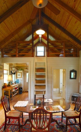 Adorable Cabin Style Ideas For Small House 01
