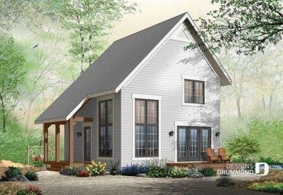 Adorable Cabin Style Ideas For Small House 30