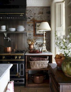 Affordable English Country Kitchen Decor Ideas 22