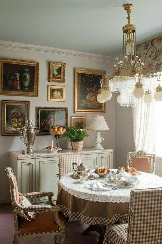 Affordable English Country Kitchen Decor Ideas 33