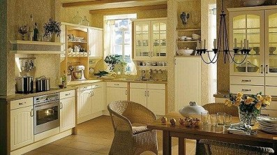 Affordable English Country Kitchen Decor Ideas 36